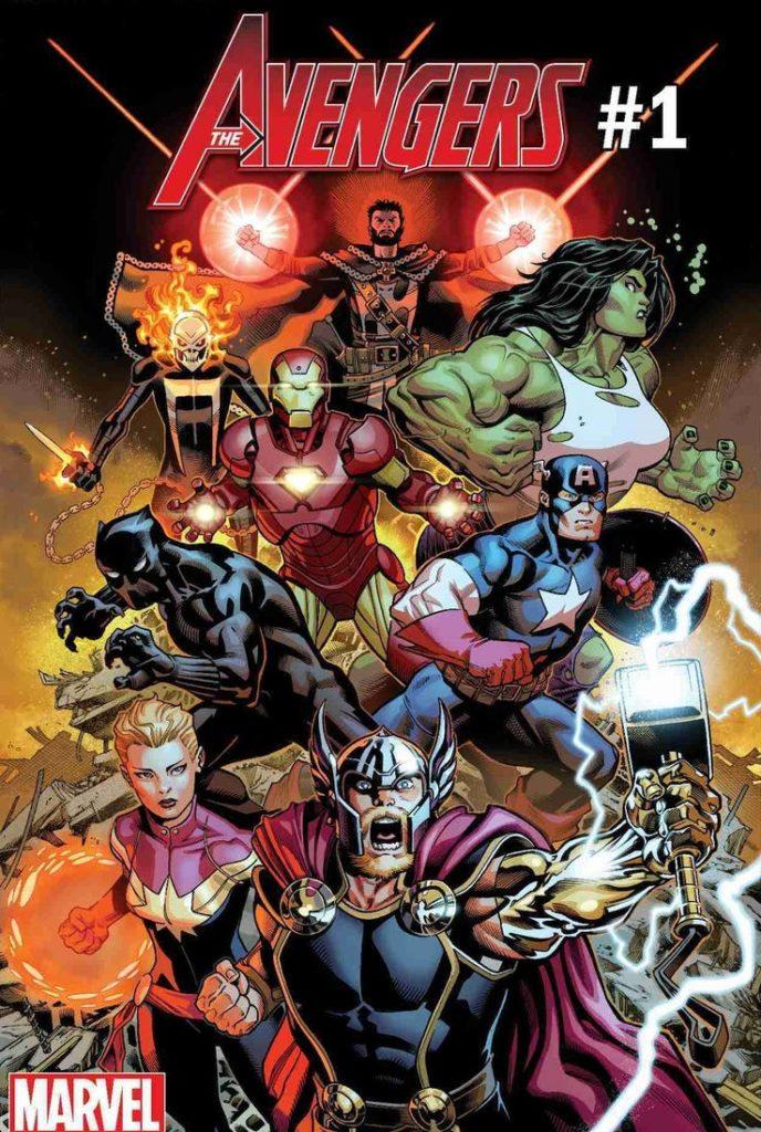 Marvel Fresh Start Avengers