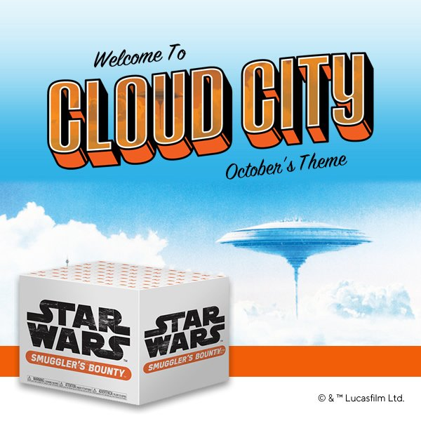 star wars smuggler's bounty cloud city unboxing