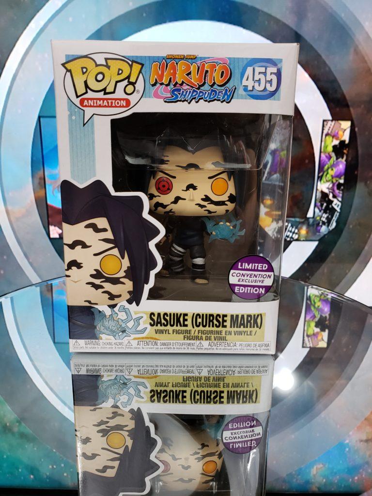 so cal retro gaming expo funko pop sasuke curse mark