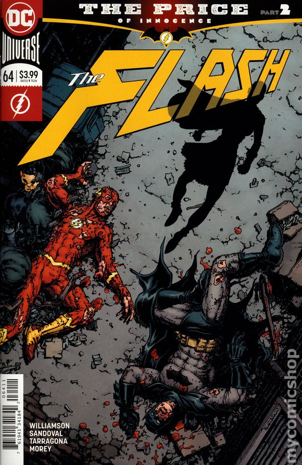 batman and the flash crossover dc comics crossover
